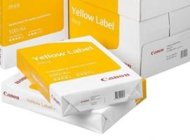 Бумага А4 500л Canon Yellow Label Print 80г/м2,146CIE% класс С